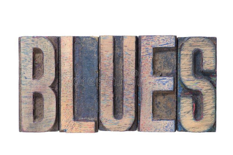 Błękity formułują drewnianego zdjęcie royalty free