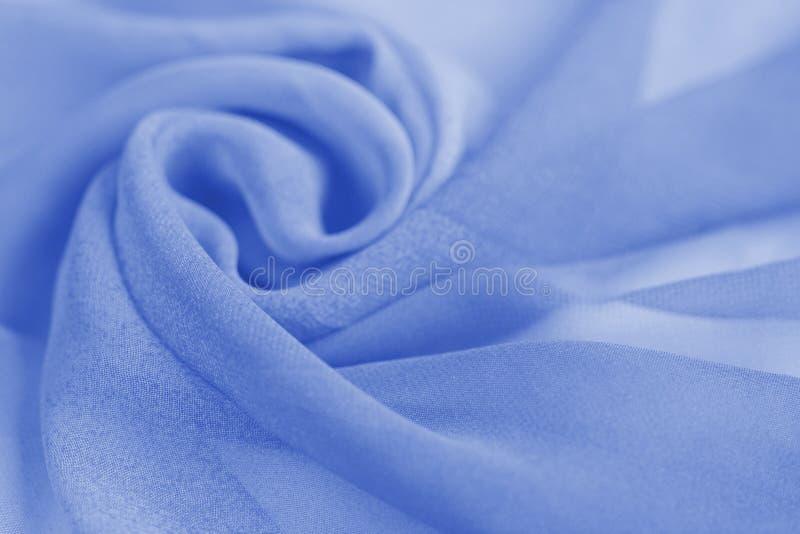 Bława jedwabnicza tkanina używać jako tło obraz stock
