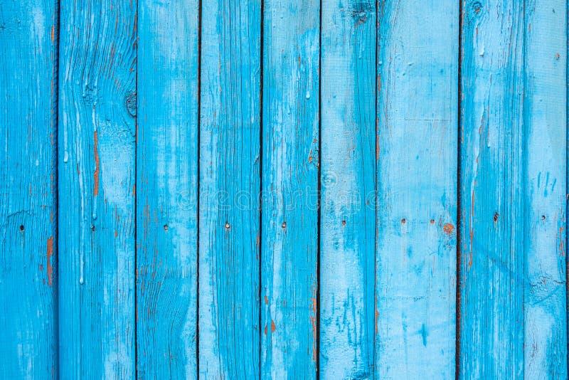 Bławy drewniany ogrodzenie obraz stock