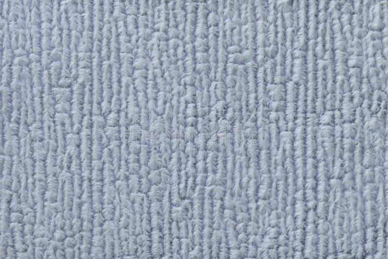 Bławy puszysty tło miękka część, wełnisty płótno Tekstura tekstylny zbliżenie zdjęcie stock