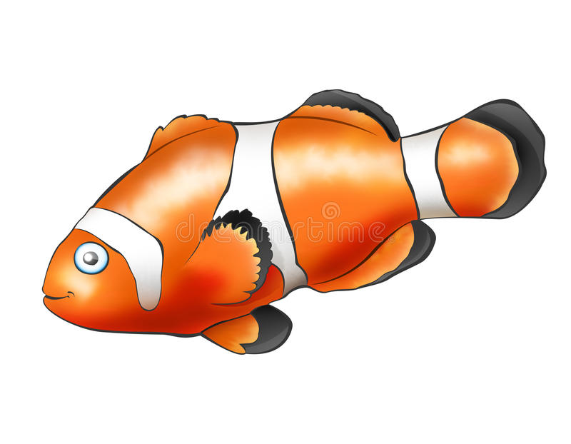 błazen ryba ilustracja wektor