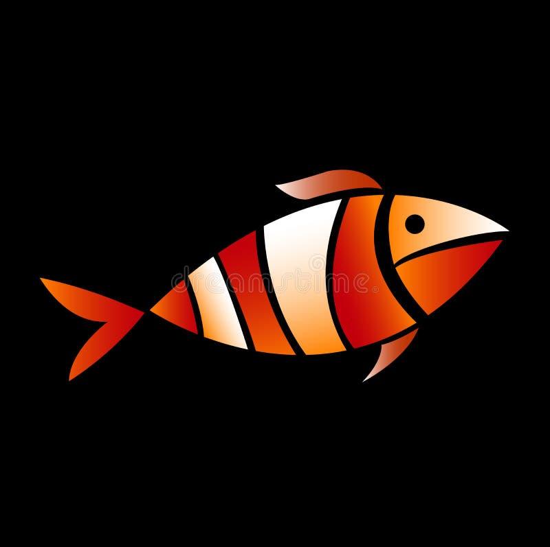 Błazen rybia ilustracja ilustracji