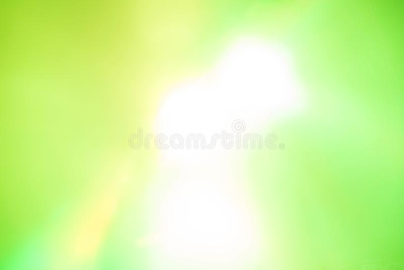 Błysk zielonego światła tło obraz stock