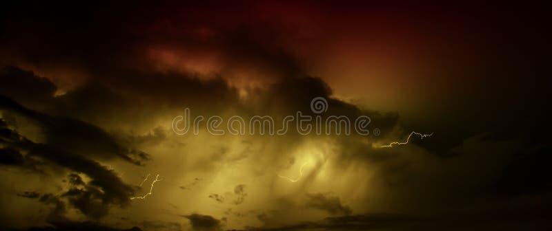 Błyskawicowy rygiel zdjęcie royalty free