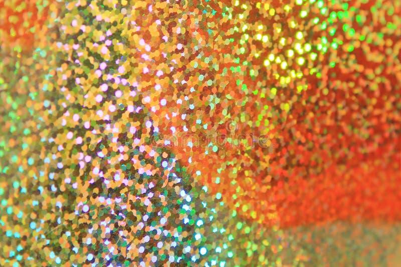 Błyskotliwość złoto - Abstrakcjonistyczny koloru tło fotografia royalty free