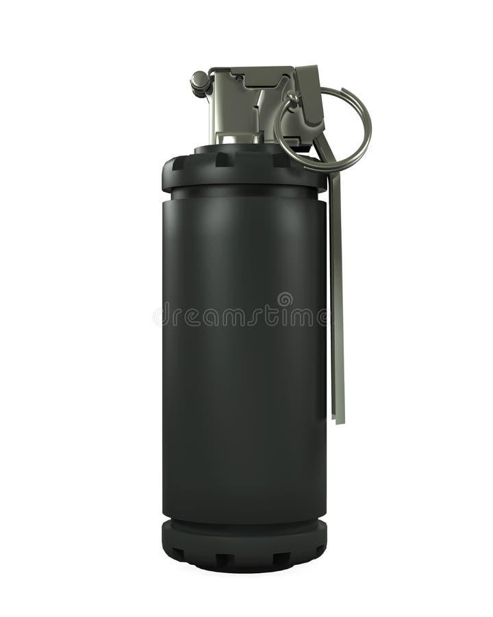 Błyskowy granat ilustracji