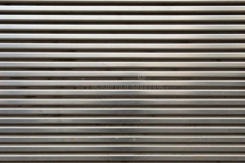 Błyszcząca metalu grilla ściana zdjęcie stock