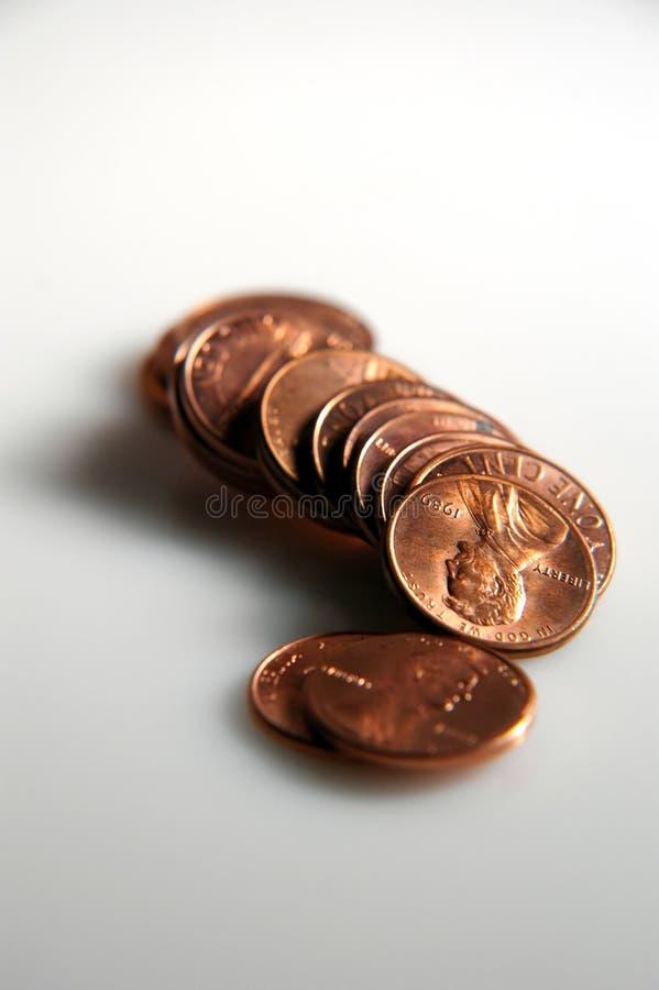 błyszczący monet zdjęcie stock