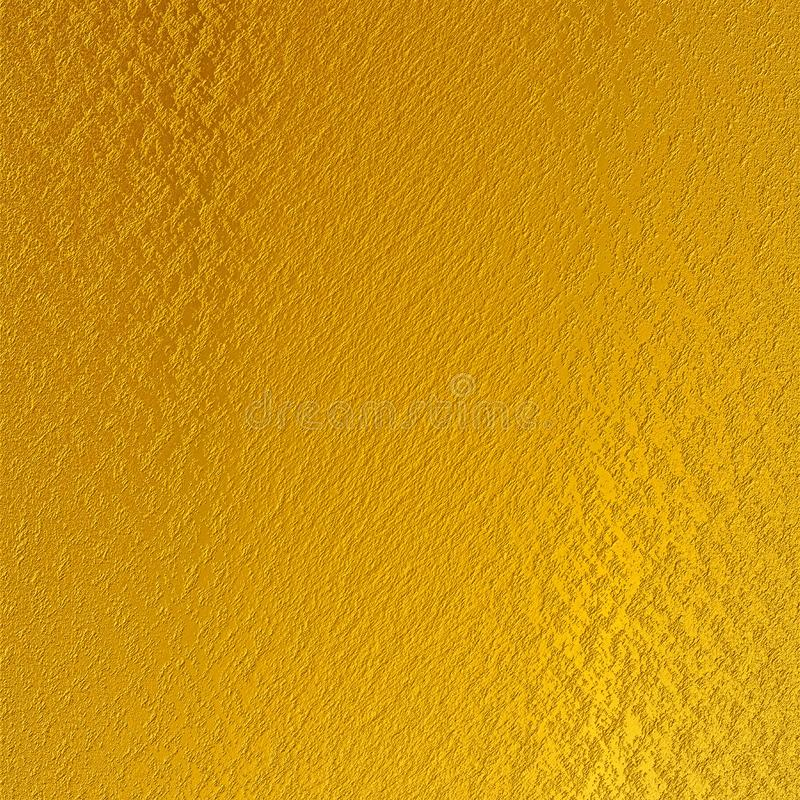 Błyszczący złocistej folii textured tło zdjęcie stock