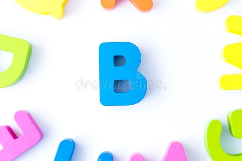B信件用英语 库存图片