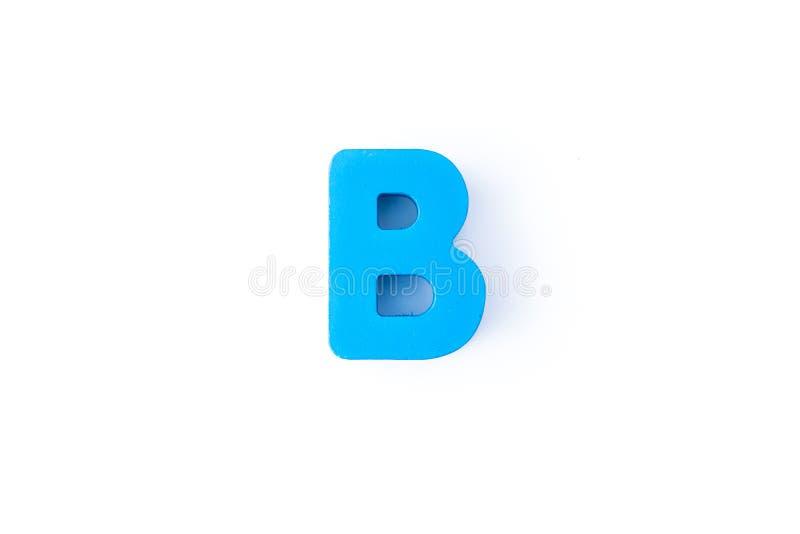B信件用英语 免版税库存图片