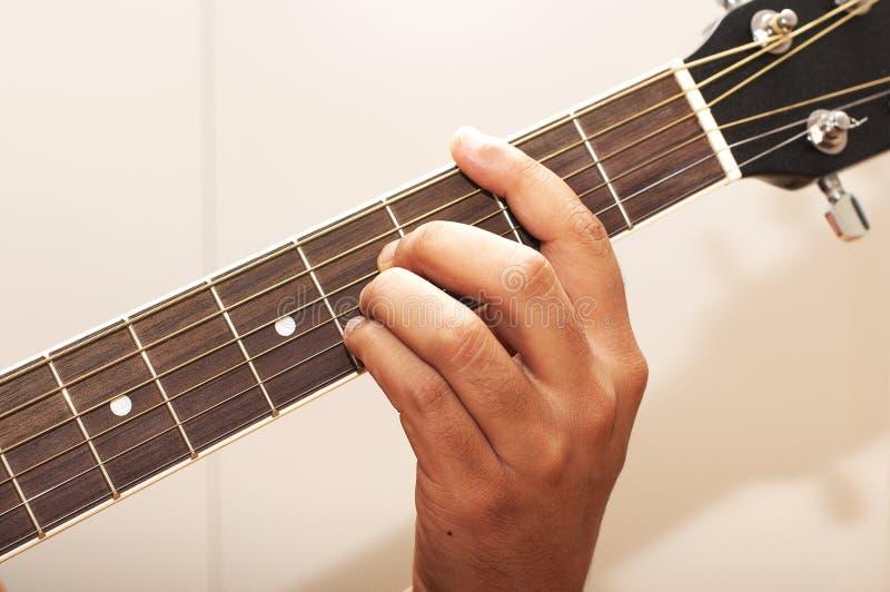 b弦吉他 免版税库存照片