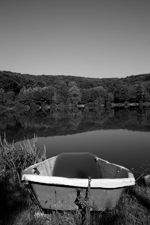 b湖照片w 免版税图库摄影