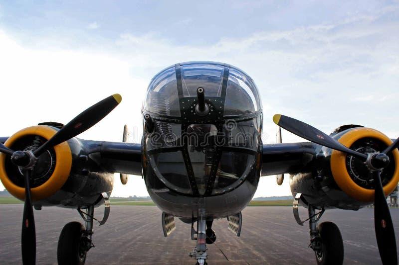 25 b轰炸机mitchell 免版税库存图片