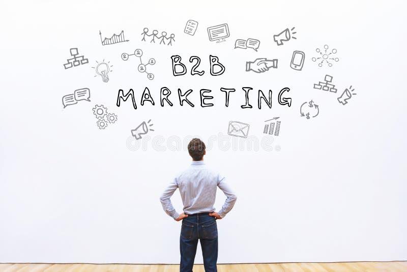 B2B μάρκετινγκ στοκ εικόνες με δικαίωμα ελεύθερης χρήσης