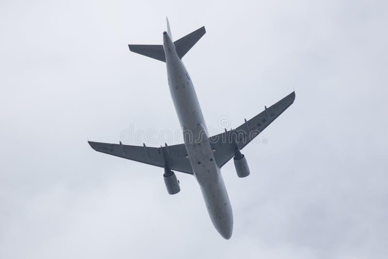 B-6011 аэробус A320-200 авиакомпании Китая восточной стоковое изображение