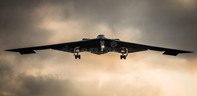 B2秘密行动轰炸机 免版税库存图片