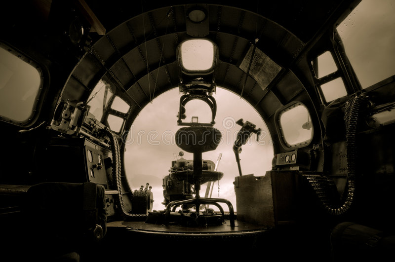 Download B-17 Bomber stock image. Image of machine, cockpit, bomber - 5932497