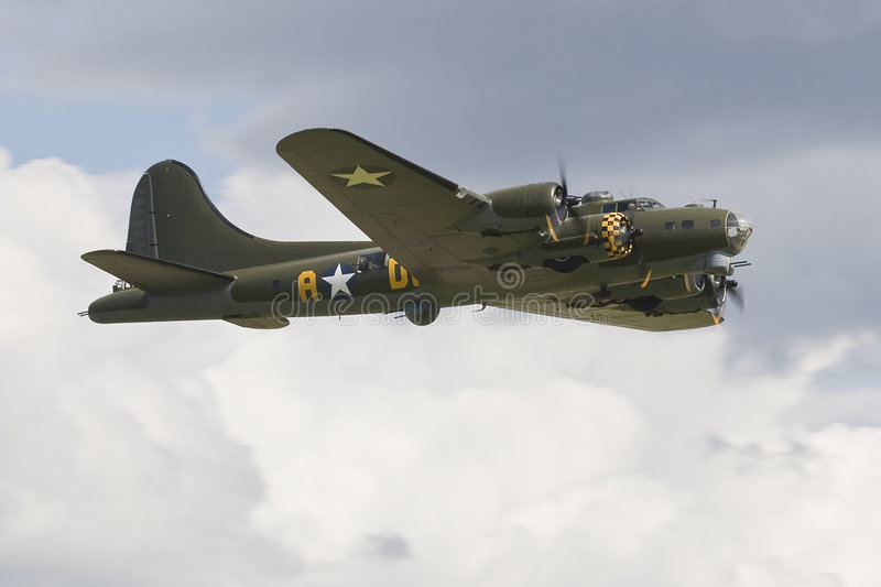 B-17G Flying Fortress royalty free stock photography