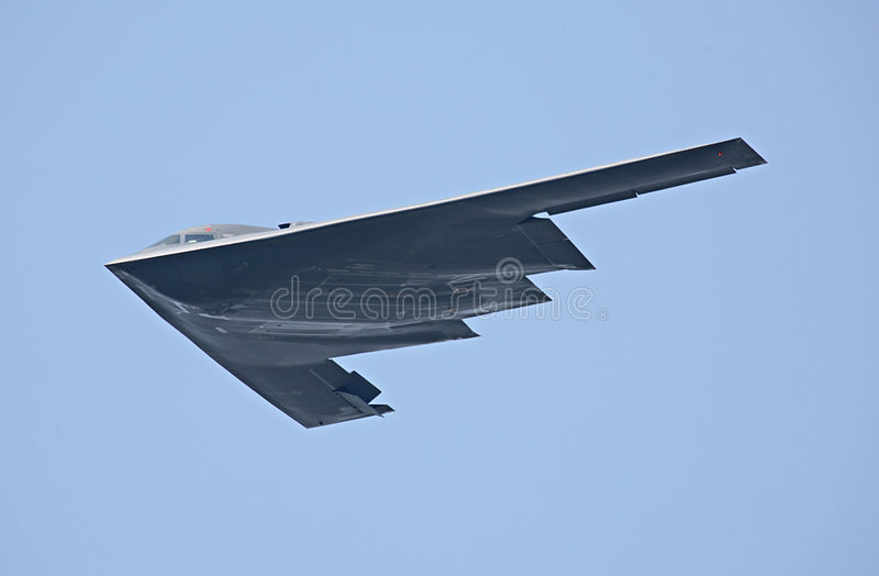 B-2 Spirit bomber royalty free stock image