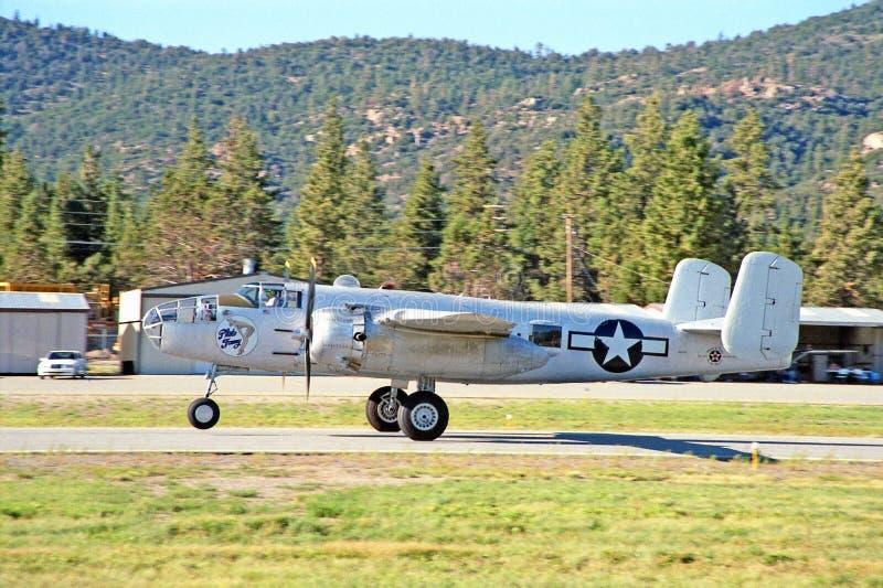 B-25 Medium Bomber stock image