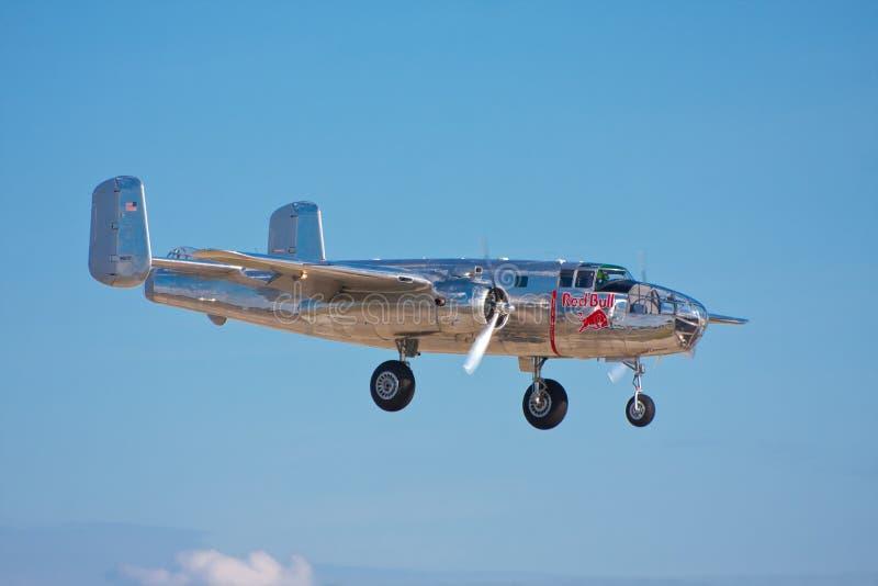B-25 norteamericano Mitchell imagen de archivo libre de regalías