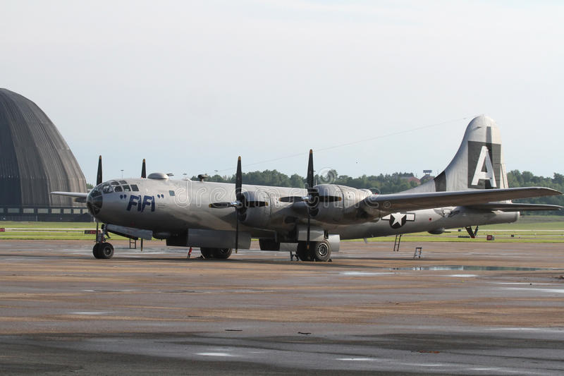 B-29 obrazy royalty free
