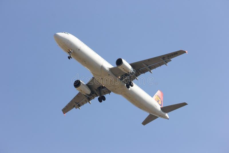B-22605 Airbus A321-100 de TransAsia Airways photo stock