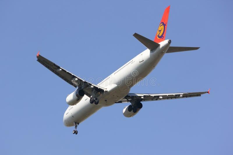 B-22605 Airbus A321-100 de TransAsia Airways image stock