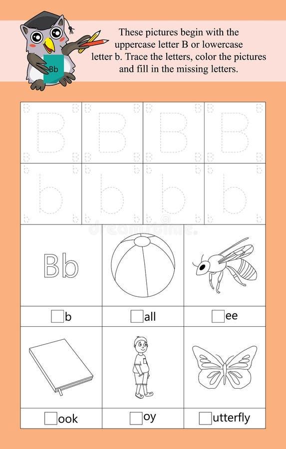 B-Alphabetschablone lizenzfreie abbildung