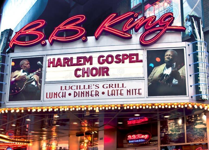 B.B. King Blues Restaurant royalty free stock photos