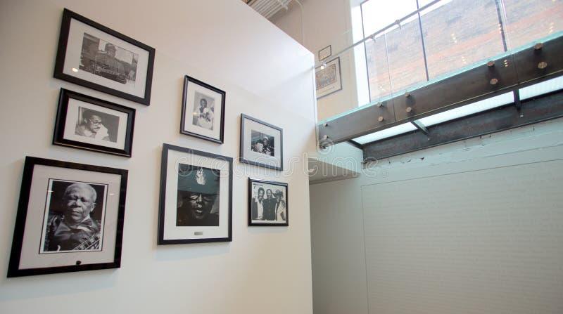 B B Koningshulde bij het Blauwhall of fame die Memphis, TN inbouwen stock afbeeldingen