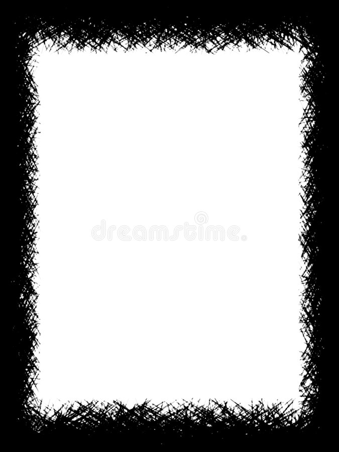 Download B border stock illustration. Image of graphic, monochrome - 447458