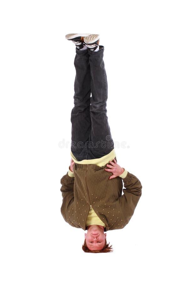 Download B-boy Freeze On Head Stock Photo - Image: 27343750