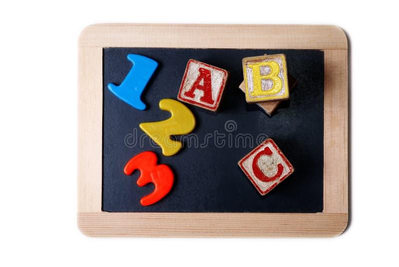 A,B,C... Stock Image