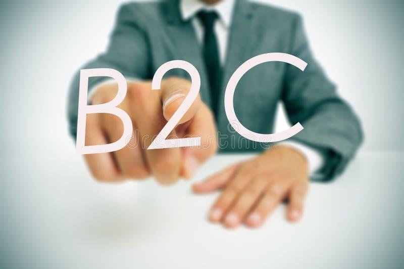 B2C, konsument zdjęcie royalty free