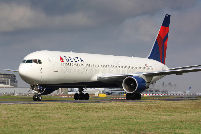 B767 Delta Airlines stock fotografie