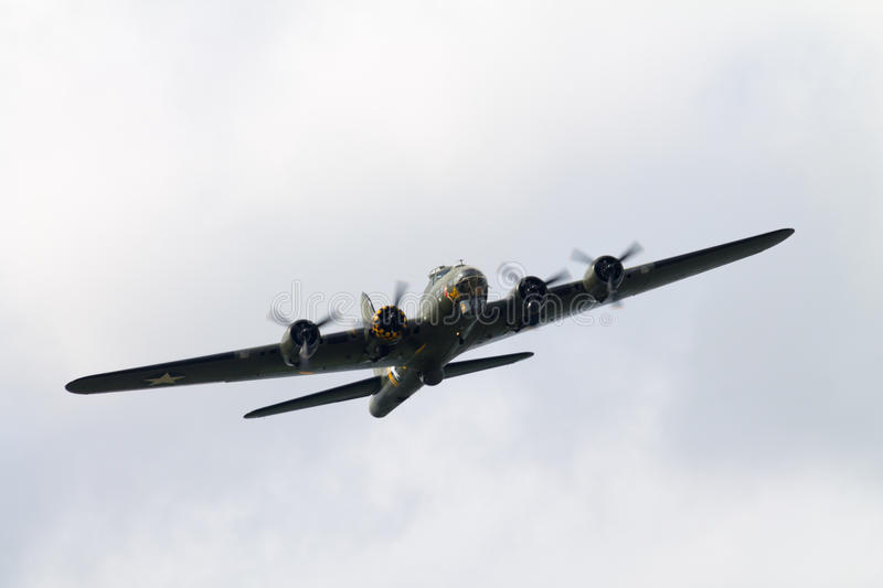 B17 Flying Fortress royalty free stock photography