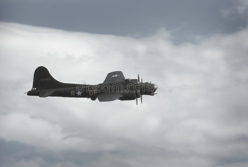 B17 flying fortress stock photos