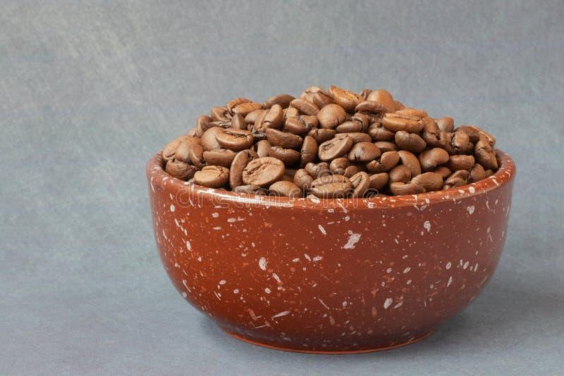 b?nor frukosterar ideal isolerad makro f?r kaffe ?ver white royaltyfria foton