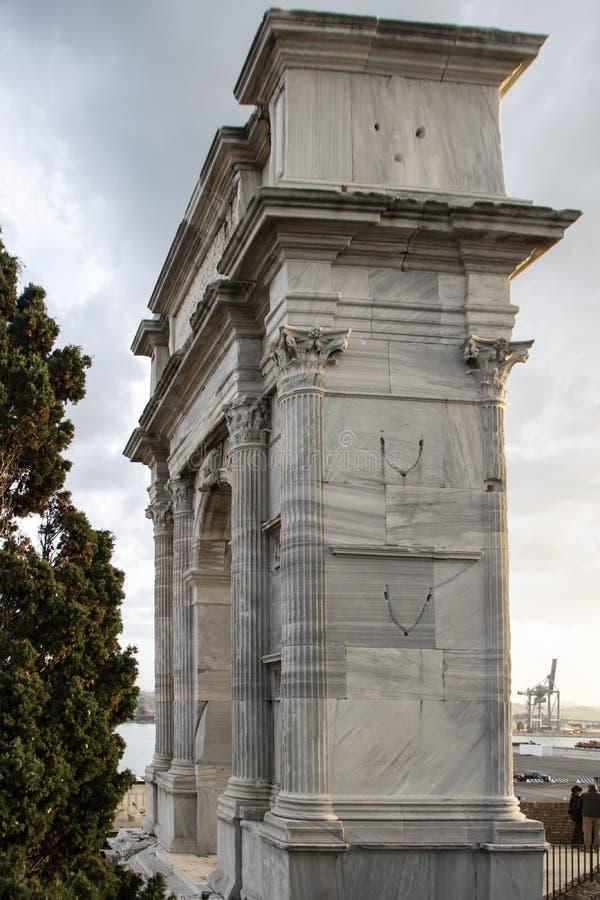 B?ge av Trajan royaltyfria foton