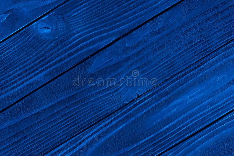 B??kitna Drewniana tekstura, pusty drewniany t?o, p?kaj?ca powierzchnia obrazy royalty free