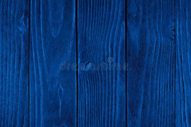 B??kitna Drewniana tekstura, pusty drewniany t?o, p?kaj?ca powierzchnia fotografia stock