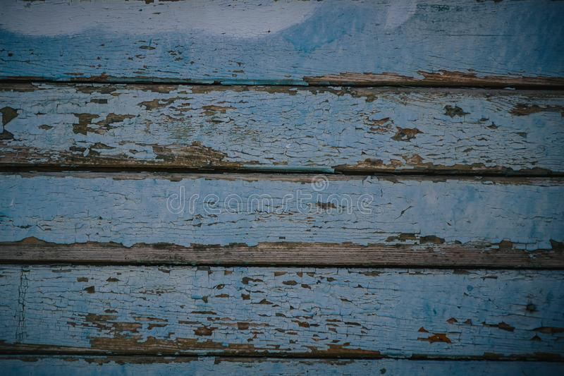 B??kitny drewniany tekstury t?a przybycie od naturalnego drzewa Drewniany panel z pi?knymi wzorami Przestrze? dla pracy zdjęcia stock