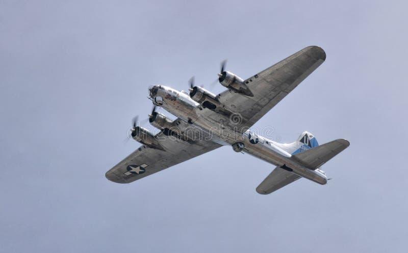 B-17 Latający forteca obraz stock