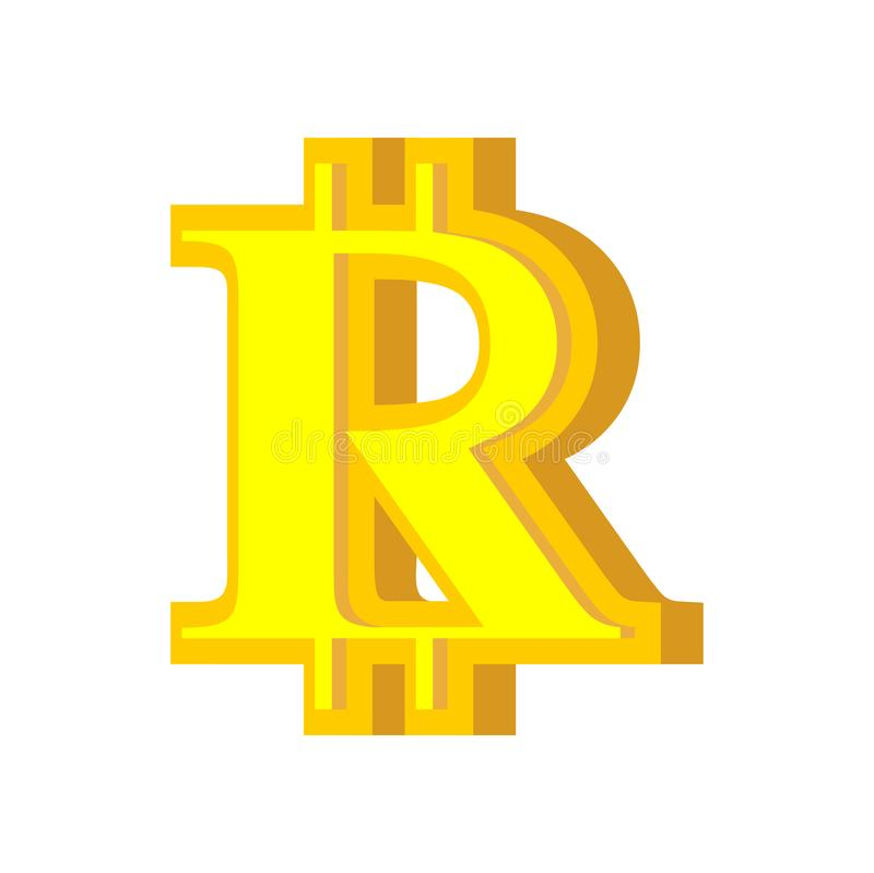 B Letter Bitcoin Font Cryptocurrency Alphabet Lettering Virtua