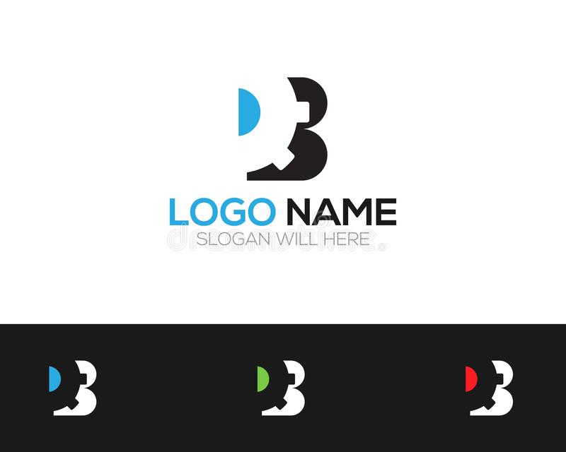 B Letter Logo Template online store vectors illustration. This is very easy to use. U ca Use as your won simply vector illustration