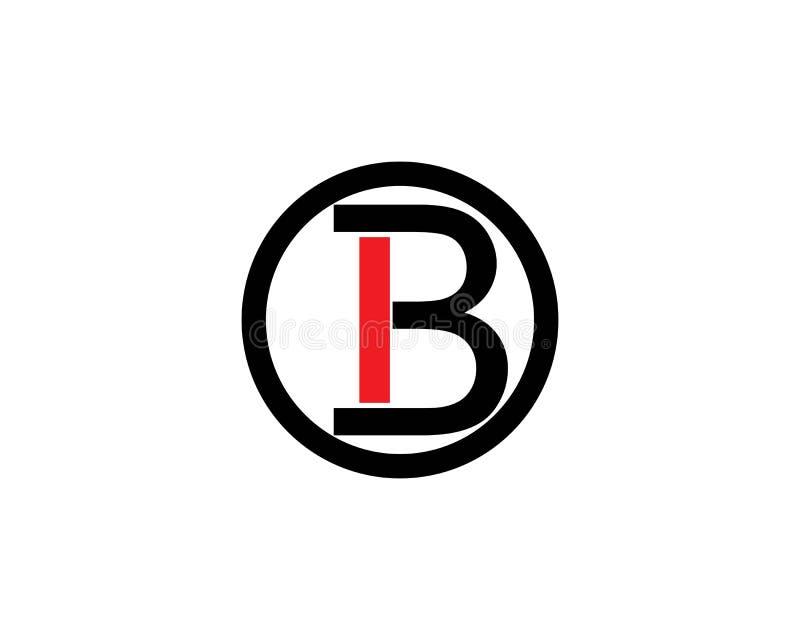 B Letter vector illustration. stock illustration