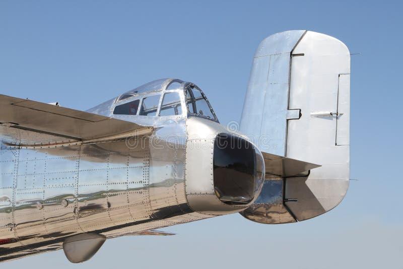 B-25 Mitchell bomber. Aircraf stock image