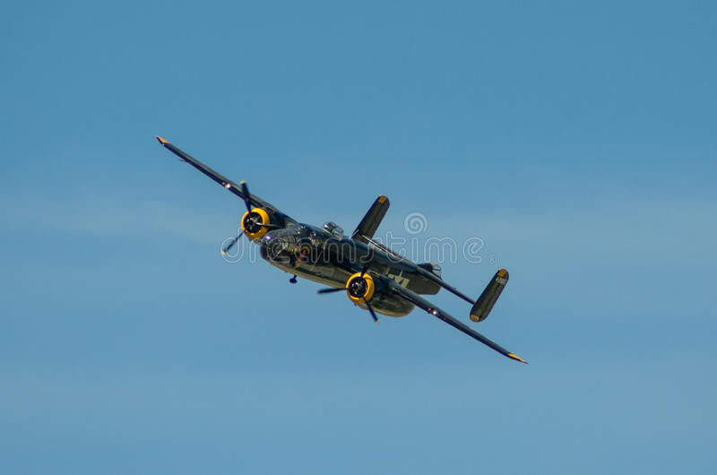 B25 Mitchell royalty free stock photography